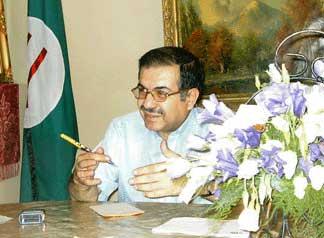 دکتر سهراب اعظم زنگنه دبیرکل پیشین حزب پان ایرانیست